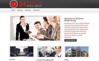 Business Website for Advertising Company