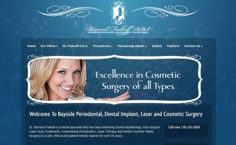 Periodontist and Implant Dentist Website