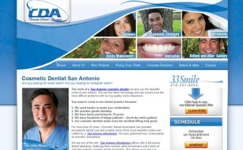 San Antonio Cosmetic Dentist Website