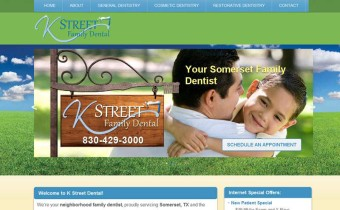San Antonio Dentist Website