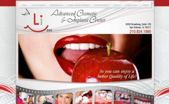 Website for Impant Dentist