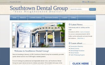 General Dentist Website in San Antonio TX