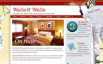 Business Website for Hotel Renovations