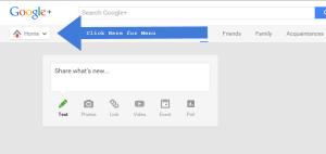 Google-Plus-Menu