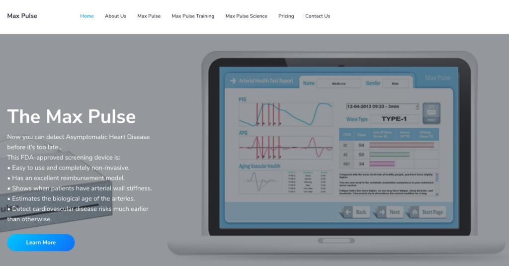 max pulse website