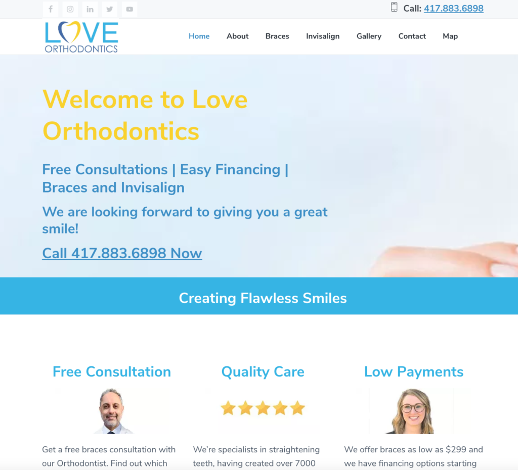 love orthodontics springfield mo website